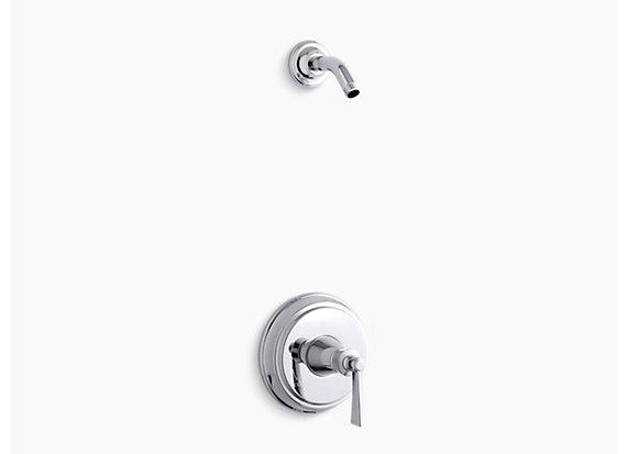 Kohler Archer®   Rite-Temp® shower valve trim with lever handle, less showerhead