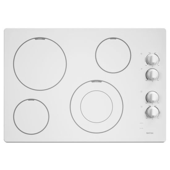 30-inch Wide Electric Cooktop with Speed Heat™ Element