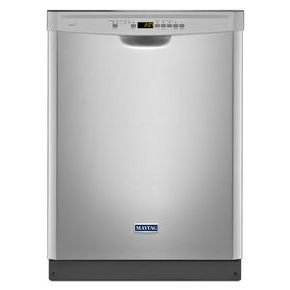 24-inch Wide Front Control Dishwasher with 4-Blade Stainless Steel Chopper