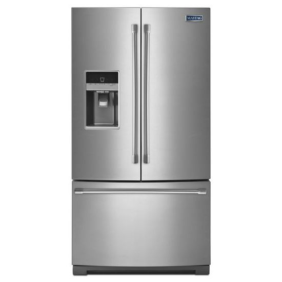 Maytag 36-inch Wide French Door Refrigerator with PowerCold Feature - 25 cu. ft.