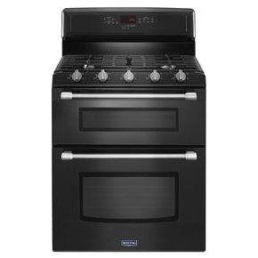 30-inch Wide Double Oven Gas Range with Power Burner - 6.0 cu. ft.