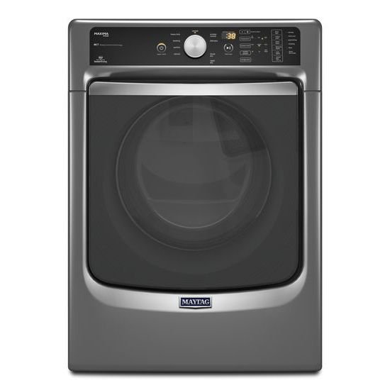 Maxima Steam Gas Dryer with Large Capacity and Stainless Steel Dryer Drum  7.3 cu. ft.