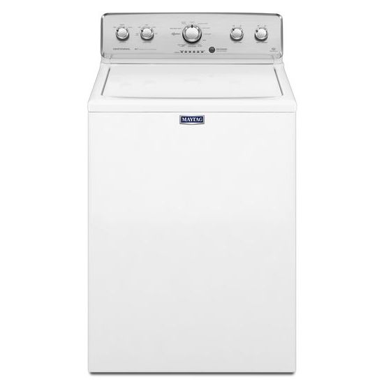 Model: MVWC555DW | Maytag Large Capacity Washer with Power Impeller -4.3 Cu. Ft.
