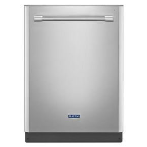 24-inch Wide Top Control Dishwasher with Fingerprint Resistant Stainless Steel Exterior