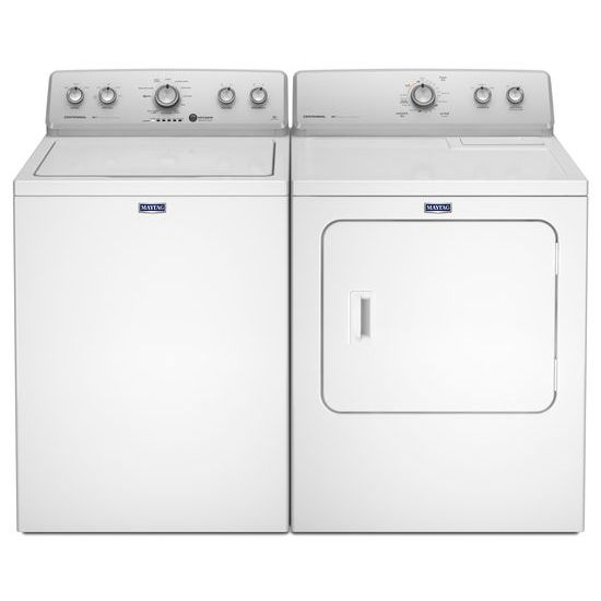 Model: MEDC215EW | Maytag 7.0 Cu. Ft. Large Capacity Dryer with Wrinkle Control