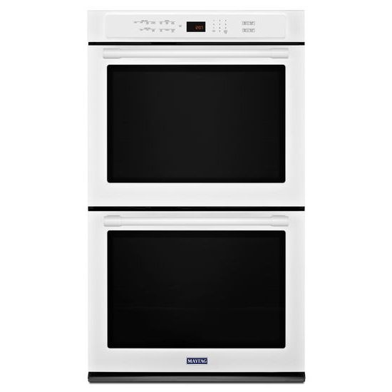 Model: MEW9630FW | Maytag 30-Inch Wide Double Wall Oven With True Convection - 10.0 Cu. Ft.