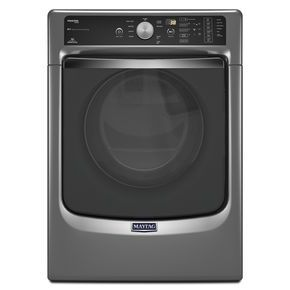 Maxima Front Load Steam Electric Dryer with SoundGuard Stainless Steel Dryer Drum  7.3 cu. ft.