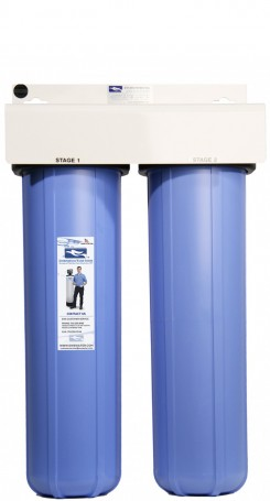 Environmental Water Systems Two Stage Pre-Sediment Filtration