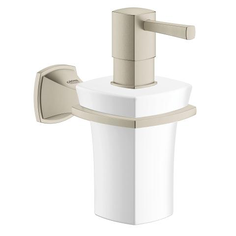 Grohe Grandera Holder with Ceramic Soap Dispenser