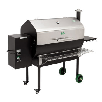 Model: JBWFSS-12V | Green Mountain Grills JIM BOWIE WI-FI ENABLED GRILL Stainless Lid