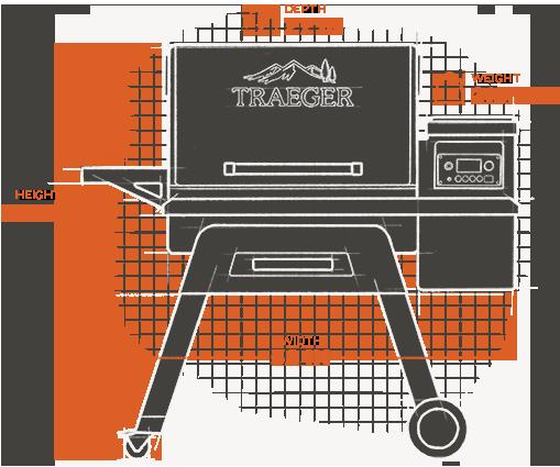 Model: TFB85WLE   Traeger Grills TIMBERLINE 850 PELLET GRILL