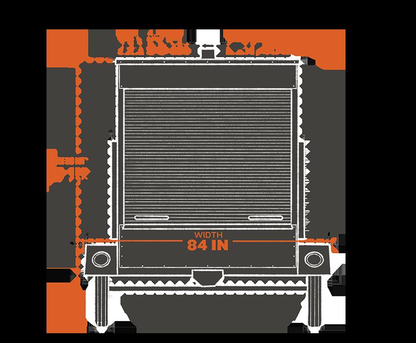 Model: COM200   Traeger Grills LARGE COMMERCIAL PELLET GRILL TRAILER