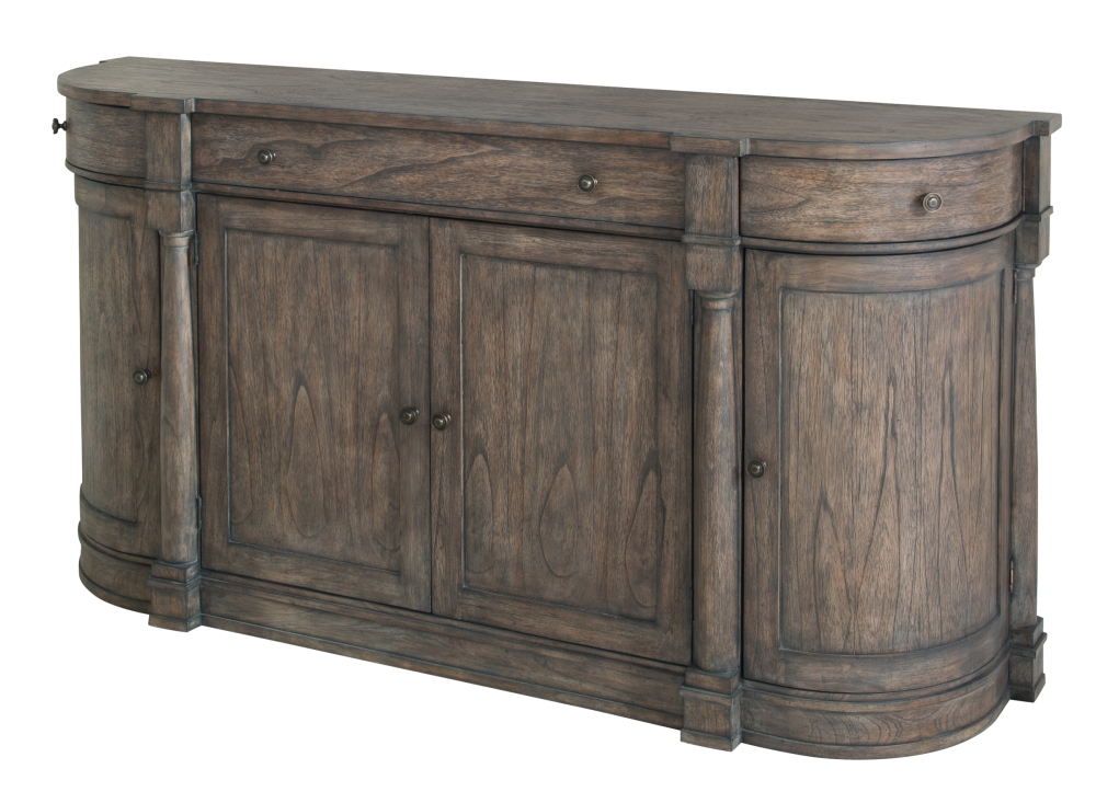 Hekman Furniture CURVED END BUFFET