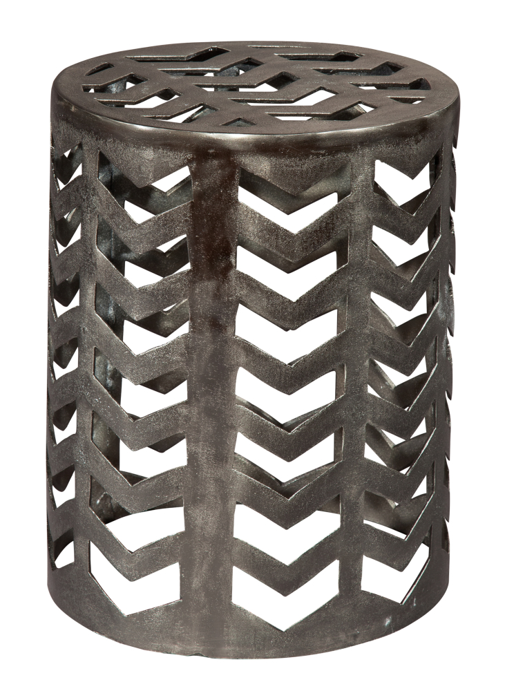 Hekman Furniture ALMN DRUM STOOL2-AKI-28452