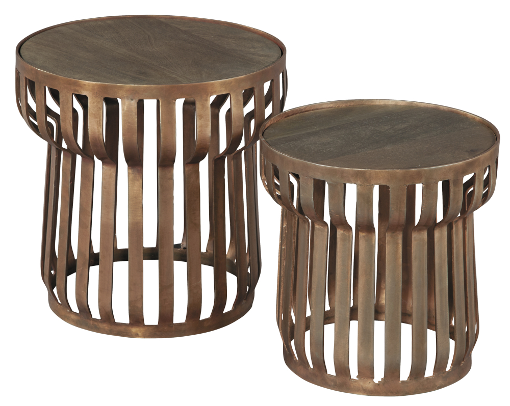 Hekman Furniture COPPER NESTING TBLS WOOD TO