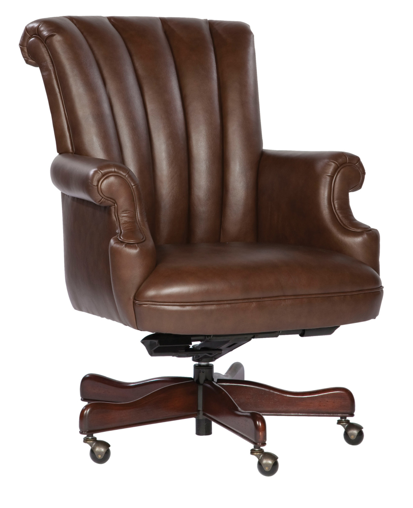Hekman Furniture EXEC.LEATHER CHAIR-COFFEE
