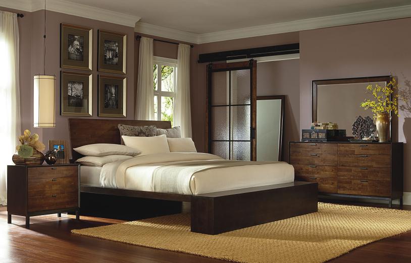 Legacy Classic Furniture Platform Bed Queen
