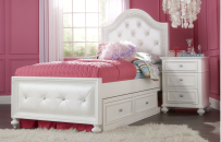 Upholstered Bed Twin