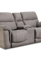 Home Stretch Power Console Loveseat