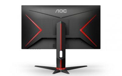 AOC muestra los nuevos monitores que lleva a la Gamescom 2019