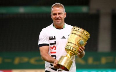 Flick repite como entrenador el doblete que logró como jugador del Bayern