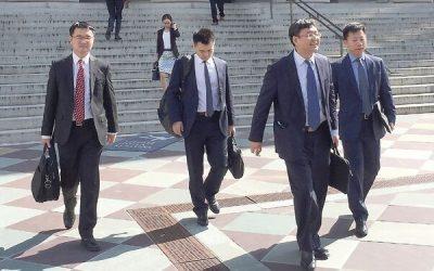 Delegados de China planean viajar a EU