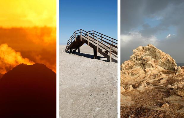 Un paisaje de otro mundo en el sur de California
