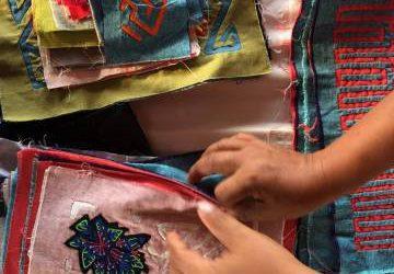Colombia teje su arte popular en bolsos de lujo