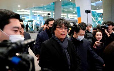 El regreso triunfal de Bong Joon-ho a Corea tras la victoria de 'Parásitos'
