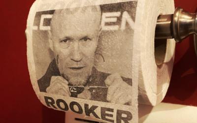 El coronavirus obliga a James Gunn a usar papel higiénico con la cara de Michael Rooker