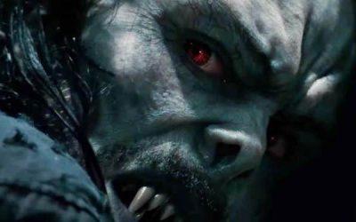Póster de 'Morbius': El vampiro viviente de Jared Leto enseña los colmillos