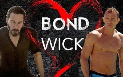 Amor de hombre: James Bond y John Wick se dan mimitos en un nuevo vídeo