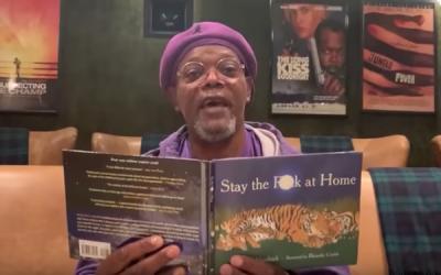 Samuel L. Jackson quiere que te quedes en tu p*ta casa