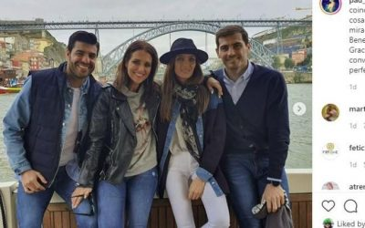 Paula Echevarría y Miguel Torres disfrutan de Oporto junto a Iker Casillas y Sara Carbonero