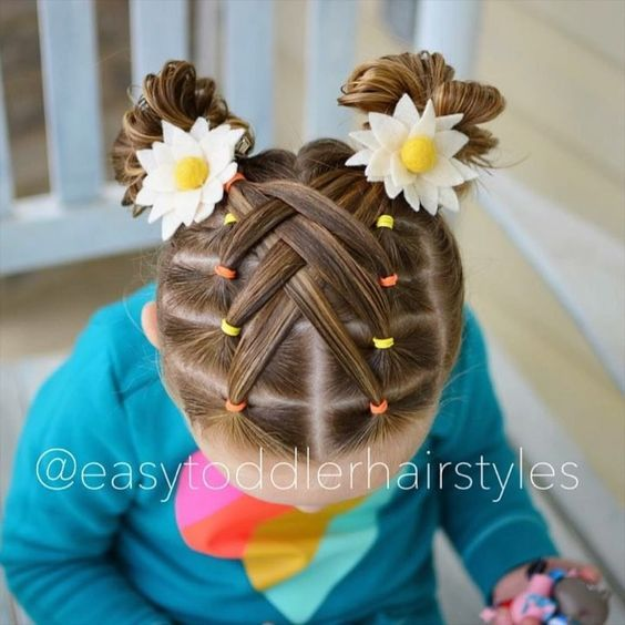 """611 Curtidas, 22 Comentários - Tiffany ❤️ Hair For Toddlers (Easytoddlerhairstyles) No Instagram: """"Cascad… (With Images) Longhairstyles"""