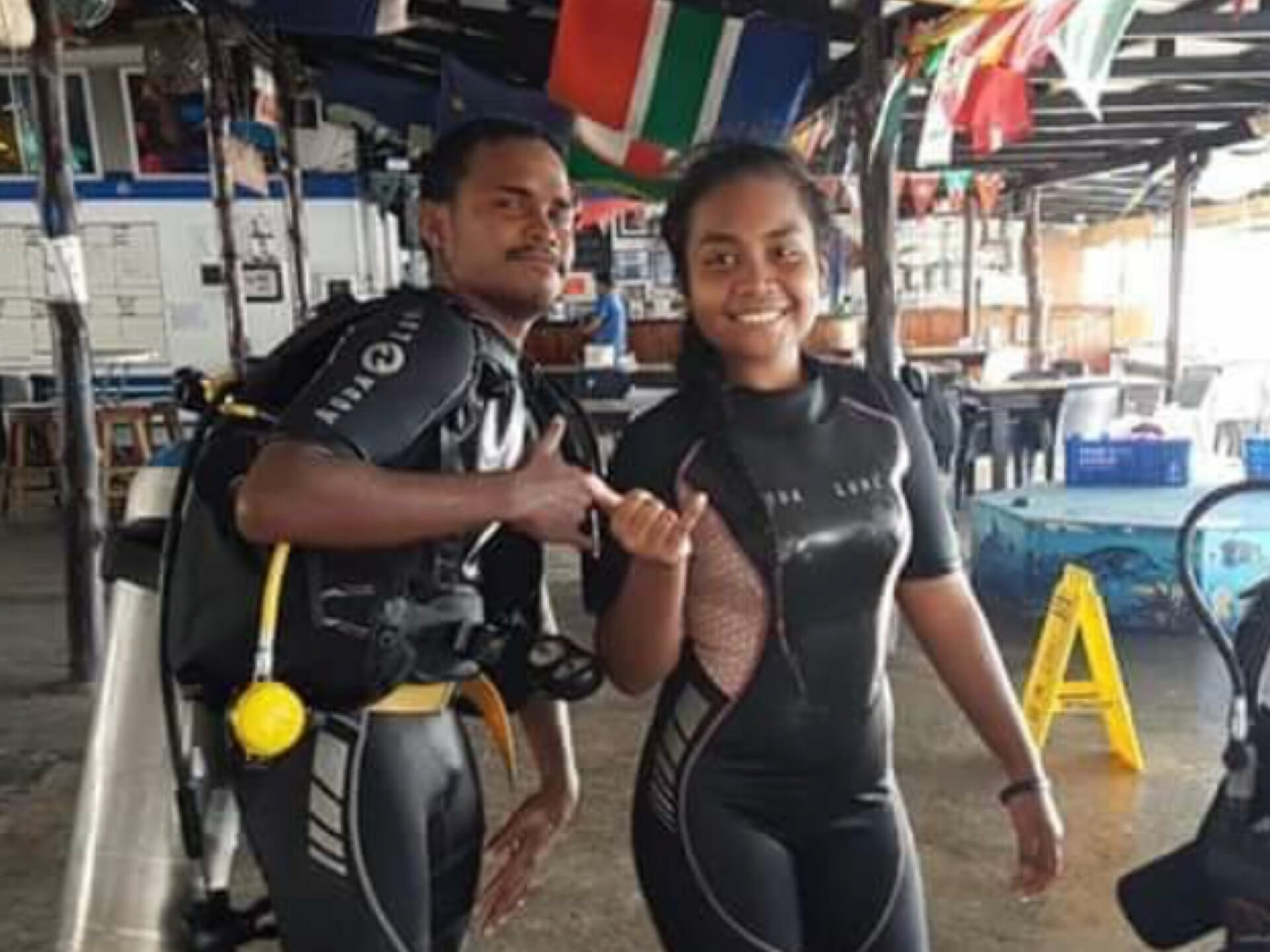 INDIGENOUS YOUTH DIVING