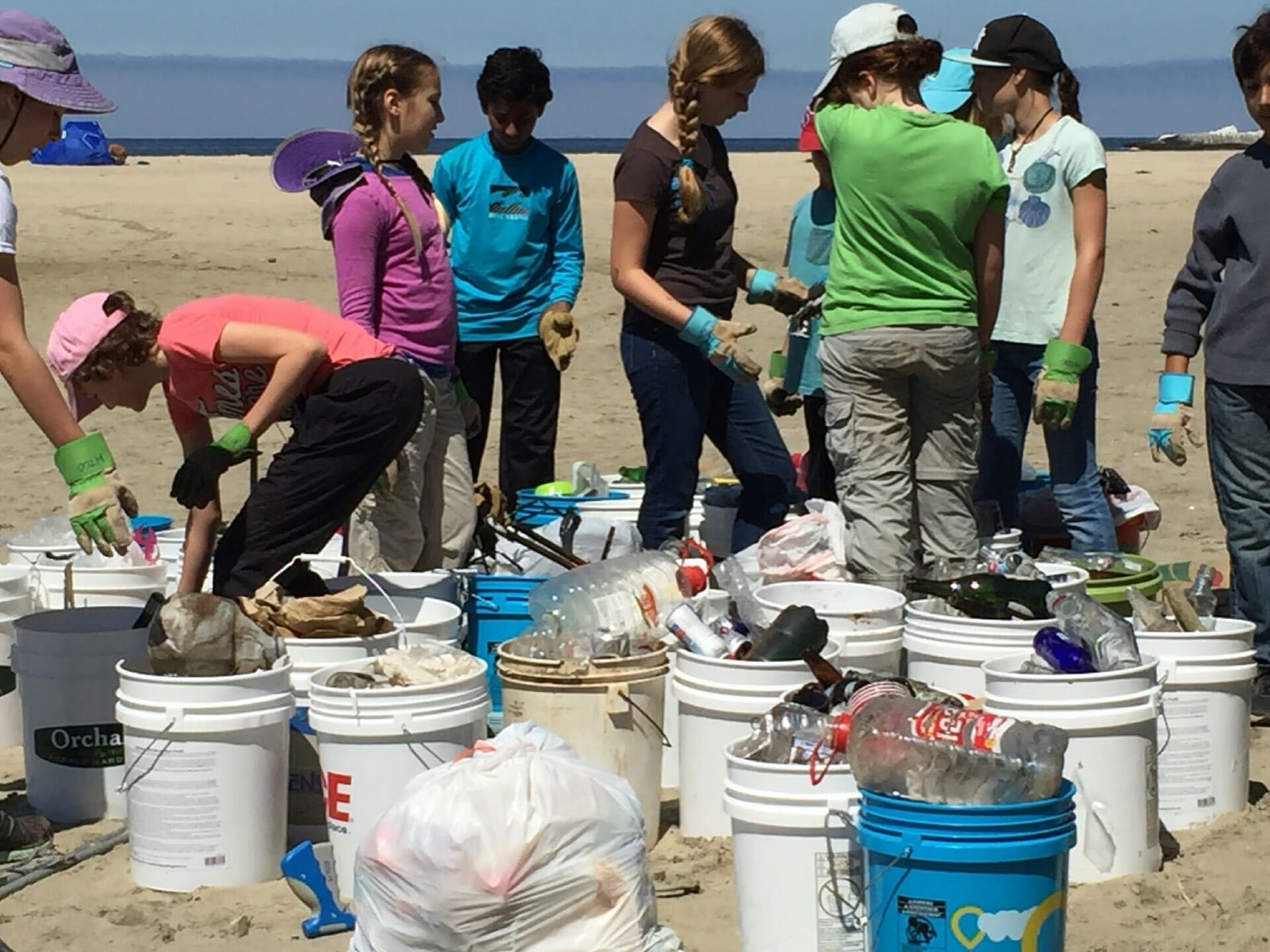 A BEACH CLEAN-UP SUCCESS STORY!