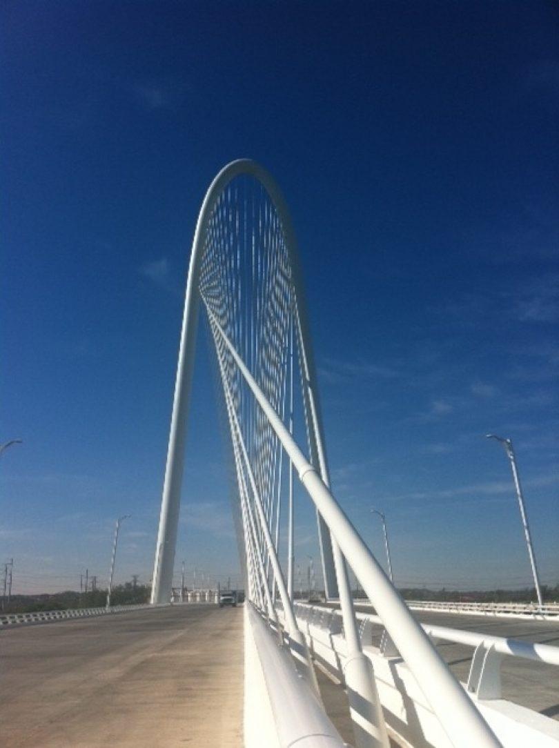 What Is Hov Lane >> Dallas Signature Bridge | American Galvanizers Association