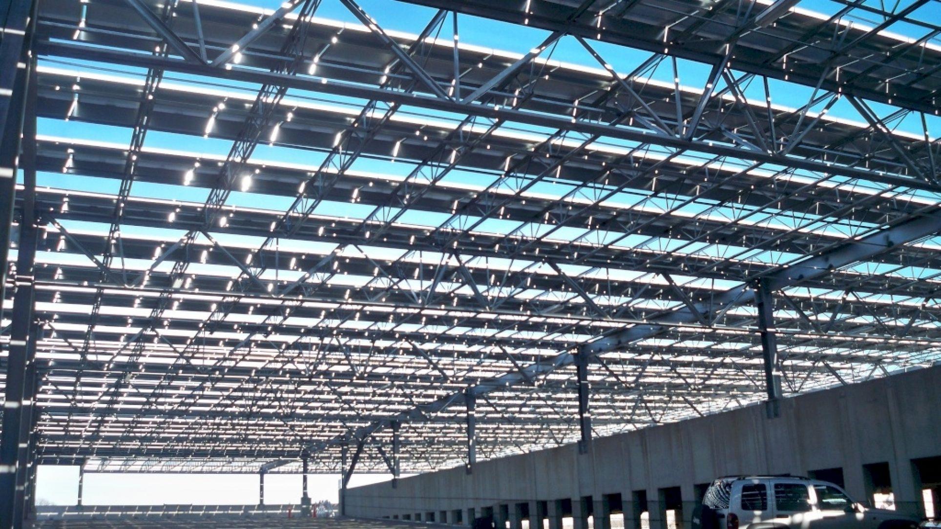 Bergen County Parking Garage Solar American Galvanizers