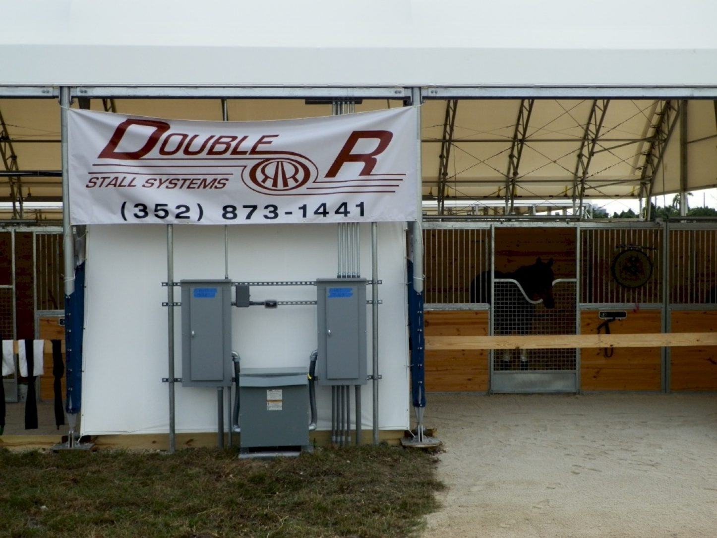 Gulfstream Park Horse Stalls American Galvanizers
