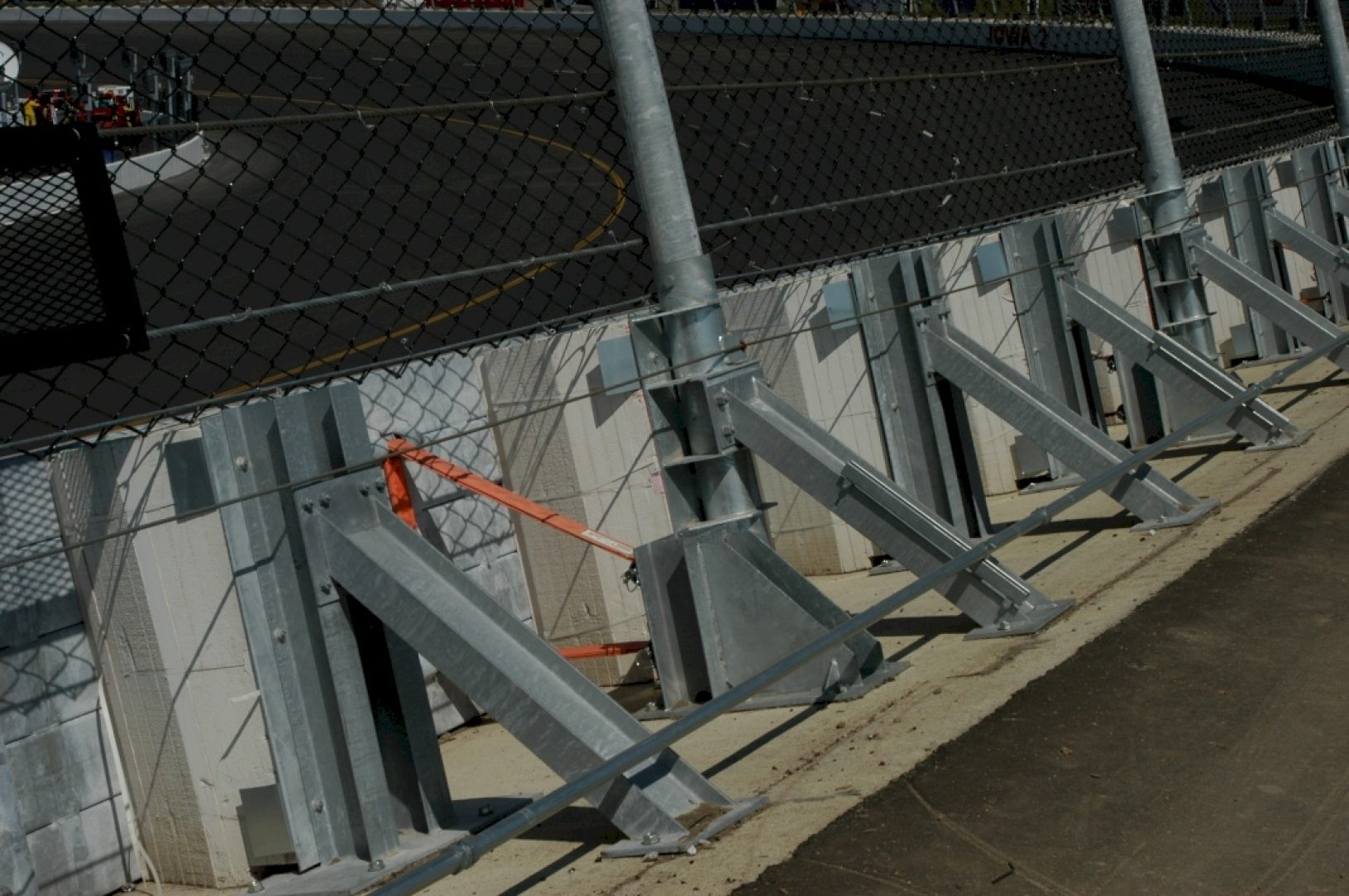 Zoneguard Steel Barrier Zoneguard Portable Steel Barrier