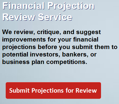 Financial Projection Review Service Now Available