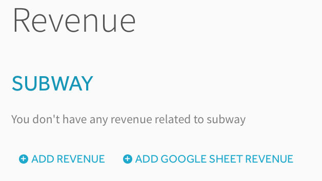 Financial Projection Template For A Subway Franchise Projectionhub