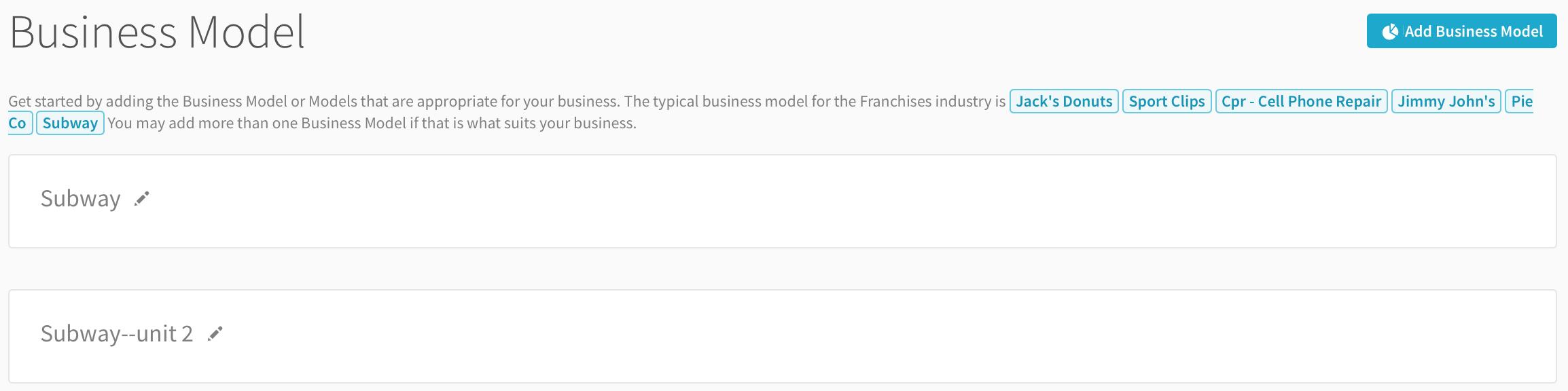 subway business plan questionnaire