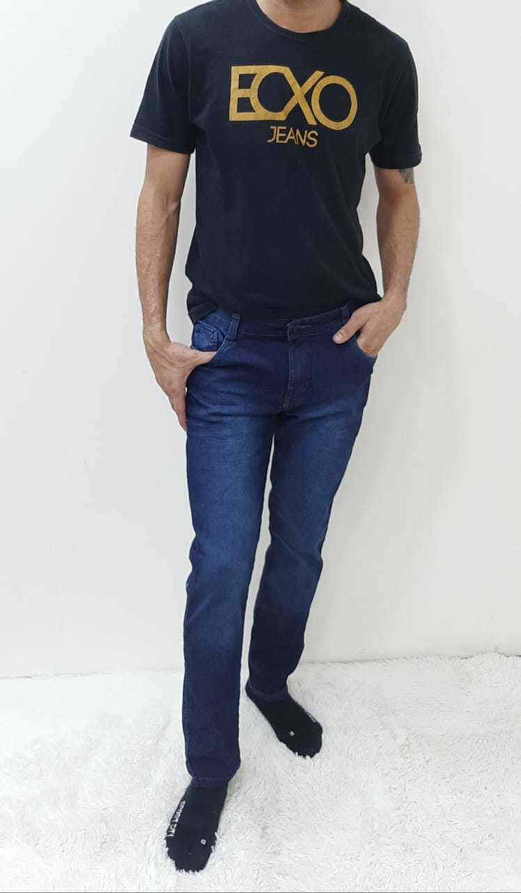 Calça Masculina Adulto Jeans Escuro REF 9090