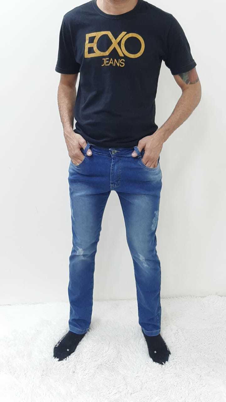Calça Masculina Adulto Jeans REF 9100