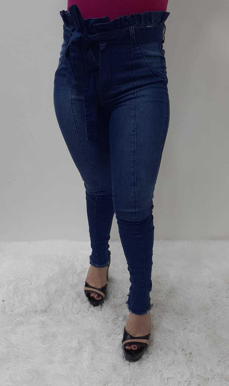 Calça Jeans Feminina Clochard com Elastano REF 8010