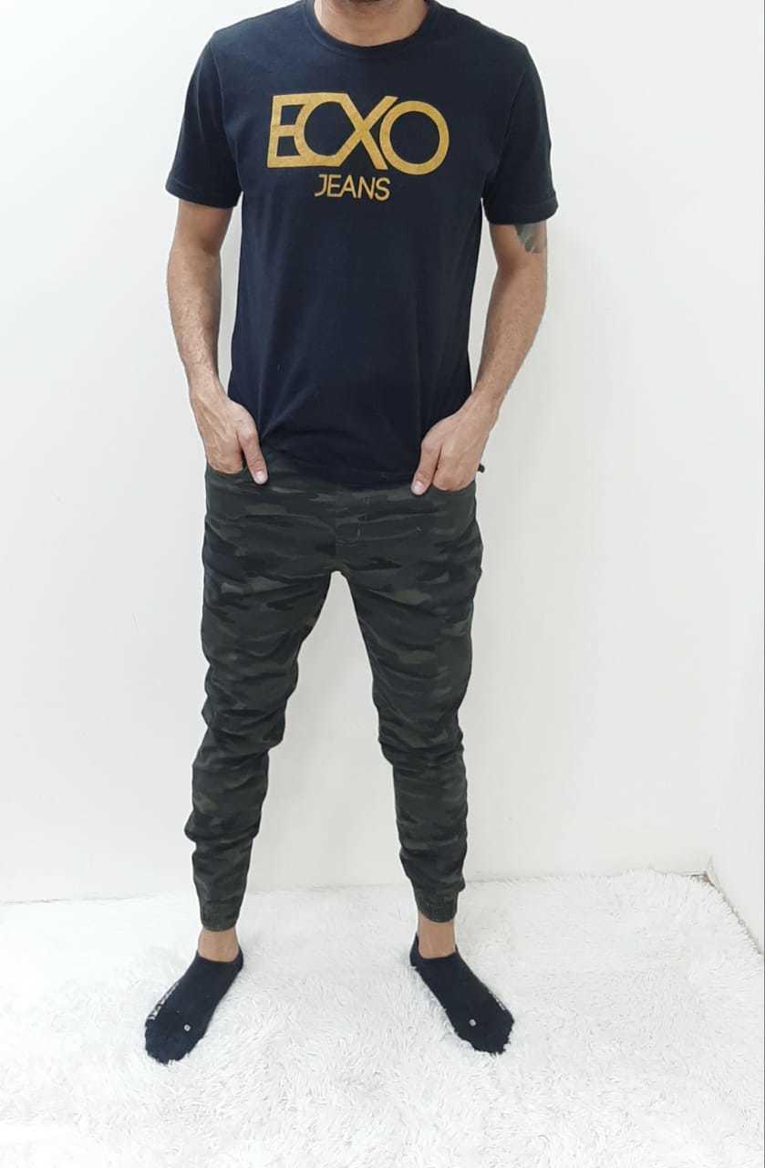 Calça Masculina Jogger com Elastano REF 9021 | Kit com 14 Peças