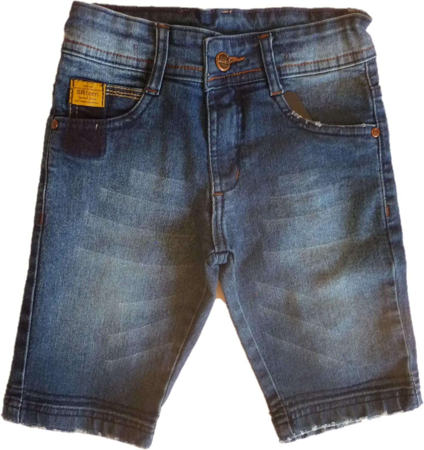 Bermuda Masculina Jeans Infantil [405]