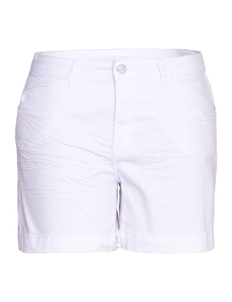 Bermuda Sarja Feminina Meia Coxa Fact Jeans - Plus Size Ref. 03984